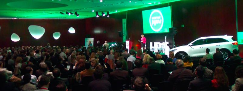 Cerca de 600 empresas se reúnen en Homenaje Pyme 2015