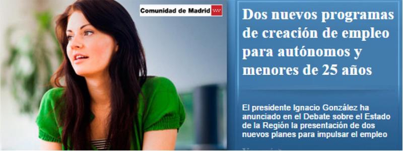 """Asociación Autónomos sin Subvención: """"Esperamos que el nuevo Gobierno de la Comunidad de Madrid acate las sentencias"""""""
