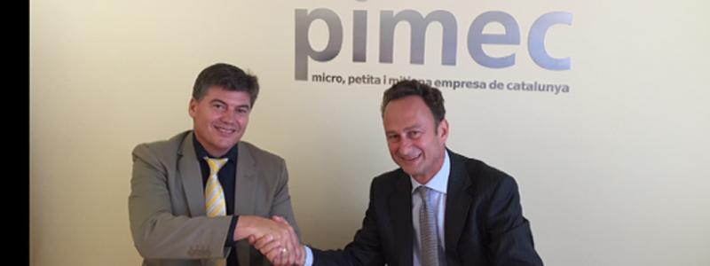 PIMEC y Sodexo firman un acuerdo para mejorar la calidad de vida del pequeño empresario