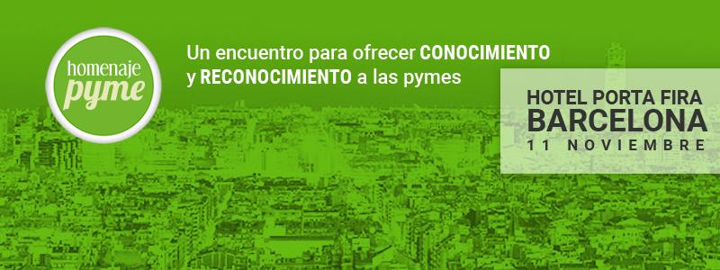 Homenaje PYME vuelve a Barcelona