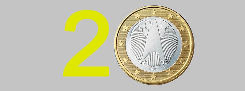 El euro y la pyme, una relación de 20 años