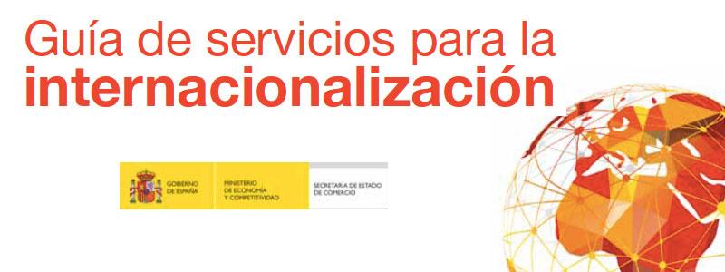 Novedades en la Guía de servicios para la internacionalización 2016
