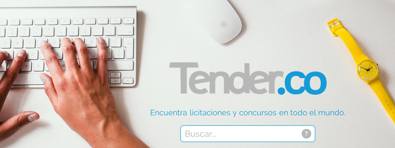 """Tender.co, el """"Google"""" de las licitaciones públicas"""