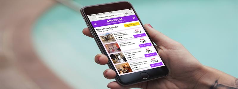 """Sergi Villaubí, CEO de Apartum: """"Es vital no volverse loco con el dinero durante los primeros años de una startup"""""""