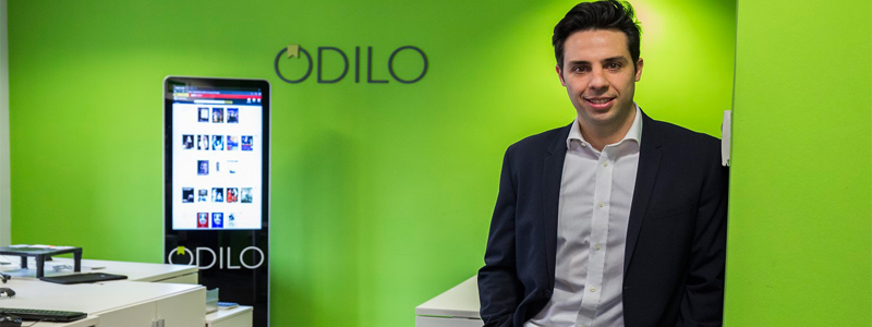 """Rodrigo Rodríguez, CEO de Odilo: """"Ser una pyme te ayuda a subir el nivel de exigencia y acaba siendo positivo a largo plazo"""""""