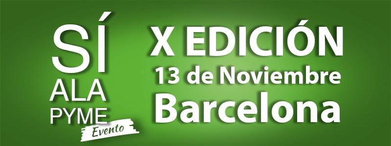 Sí a la Pyme celebra su décima edición en Barcelona