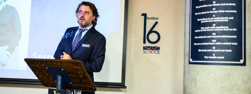"""""""Las clases online han llegado para quedarse"""" Sergio Sampietro, CEO de Number 16"""