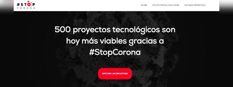 El proyecto solidario #StopCorona reúne más de 500 iniciativas
