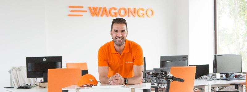 """Miguel Ángel del Pino, fundador de WagonGO: """"En las crisis siempre surgen las mejores ideas"""""""