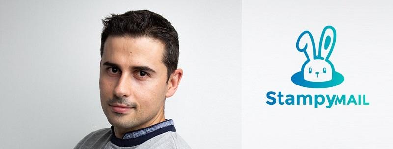 """""""Es un momento de apoyarse entre las empresas"""" Borja Garcia, fundador de StampyMail"""