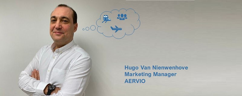 "Hugo Van Nienwenhove, Marketing Manager de Aervio: ""Estamos aprovechando este periodo de menor actividad para adaptar nuestros servicios a las nuevas necesidades"""