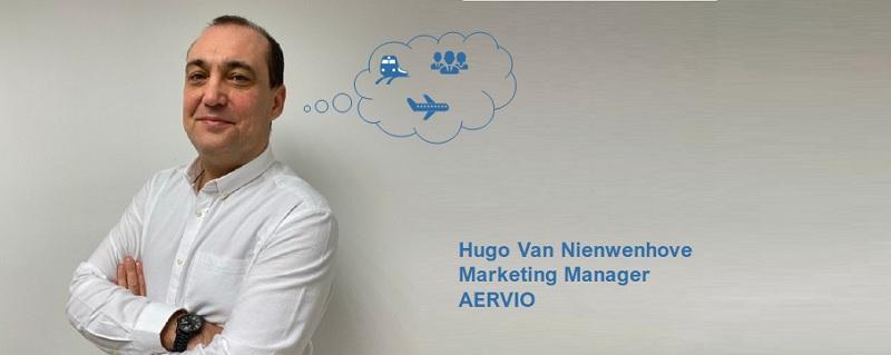"""Hugo Van Nienwenhove, Marketing Manager de Aervio: """"Estamos aprovechando este periodo de menor actividad para adaptar nuestros servicios a las nuevas necesidades"""""""
