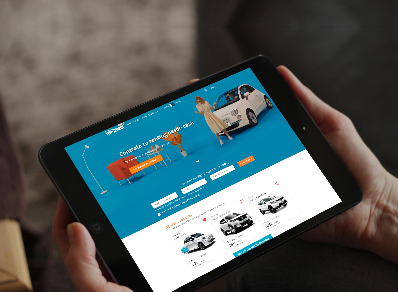 Idoeno.com prevé para 2021 una facturación de 1.3 millones de euros y alcanzar los 3.000 coches en flota.