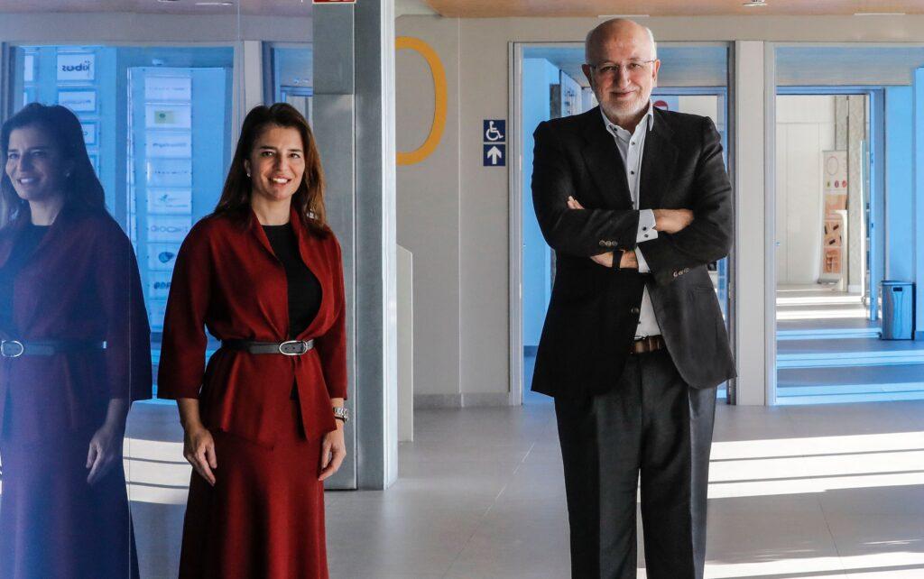 Hortensia Roig, presidenta de EDEM, y Juan Roig, presidente de Mercadona y presidente de honor de EDEM