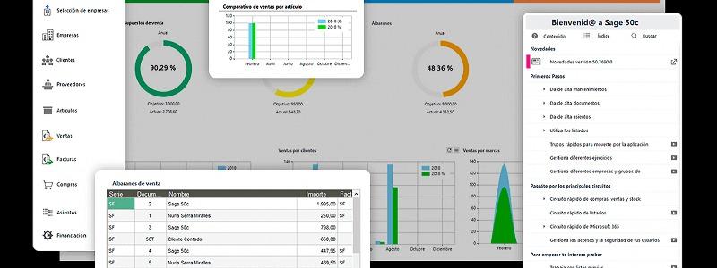 Sage 50 vs CONTASOL: ¿Qué software de contabilidad es más accesible?