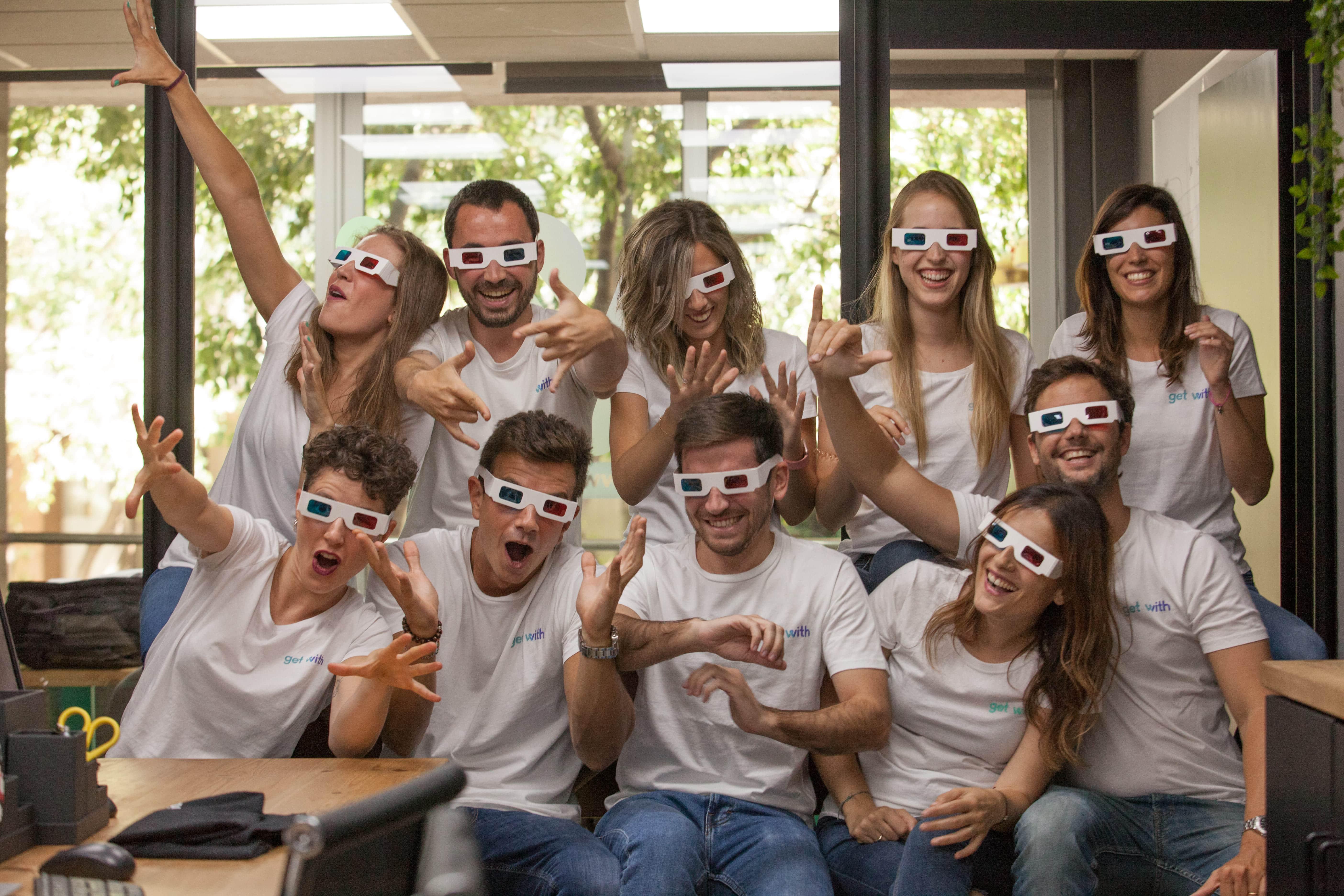 En la actualidad el equipo de Rviewer está formado por 15 personas