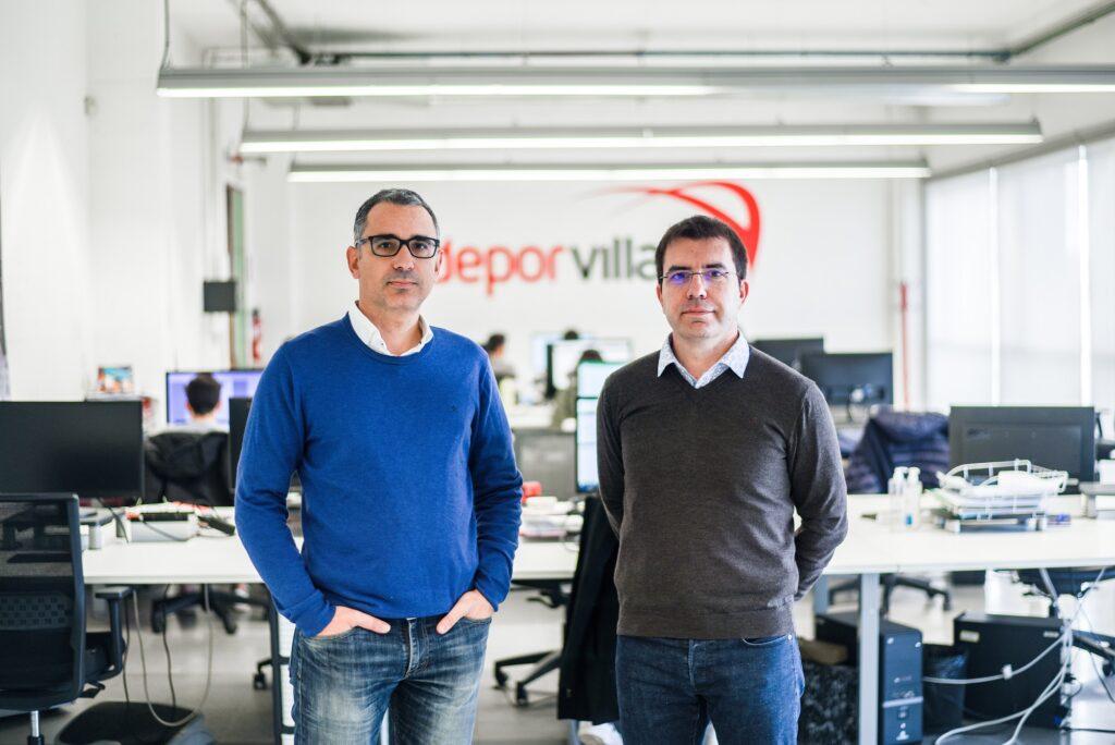 Xavier Pladellorens y Angel Corcuera fundadores DeporVillage en 2010