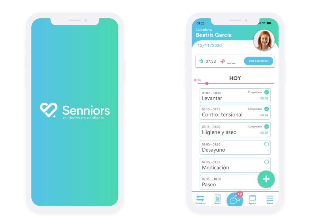 La app de Senniors también ofrece el servicio de video consultas y receta electrónica privada.
