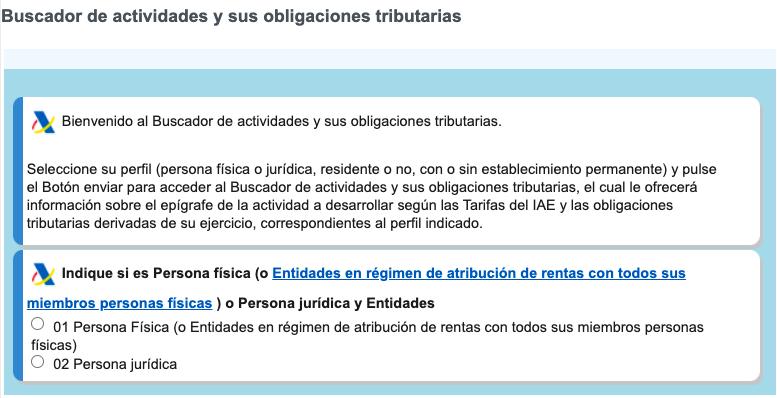 Tras responder a un cuestionario, el nuevo buscador de Hacienda indica todas las obligaciones tributarias de los autónomos