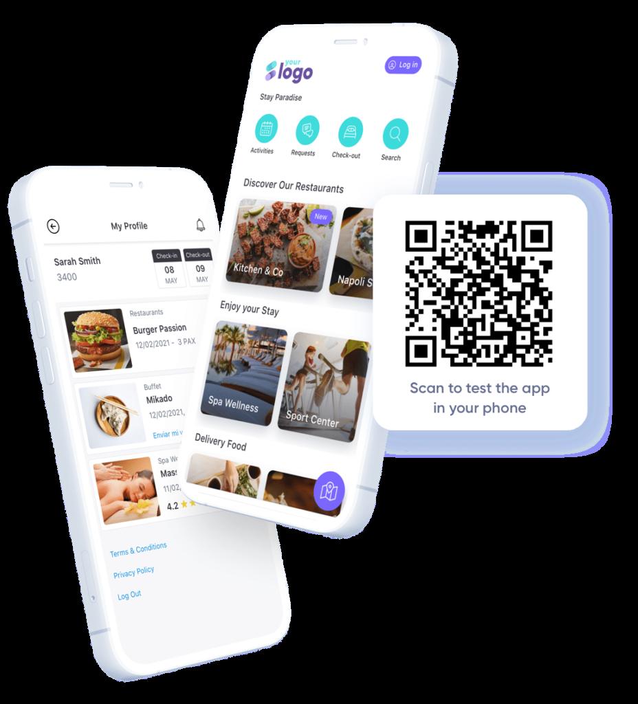 La herramienta permite crear en minutos una App para gestionar la estancia de los huéspedes de forma más segura, eficiente y rentabl